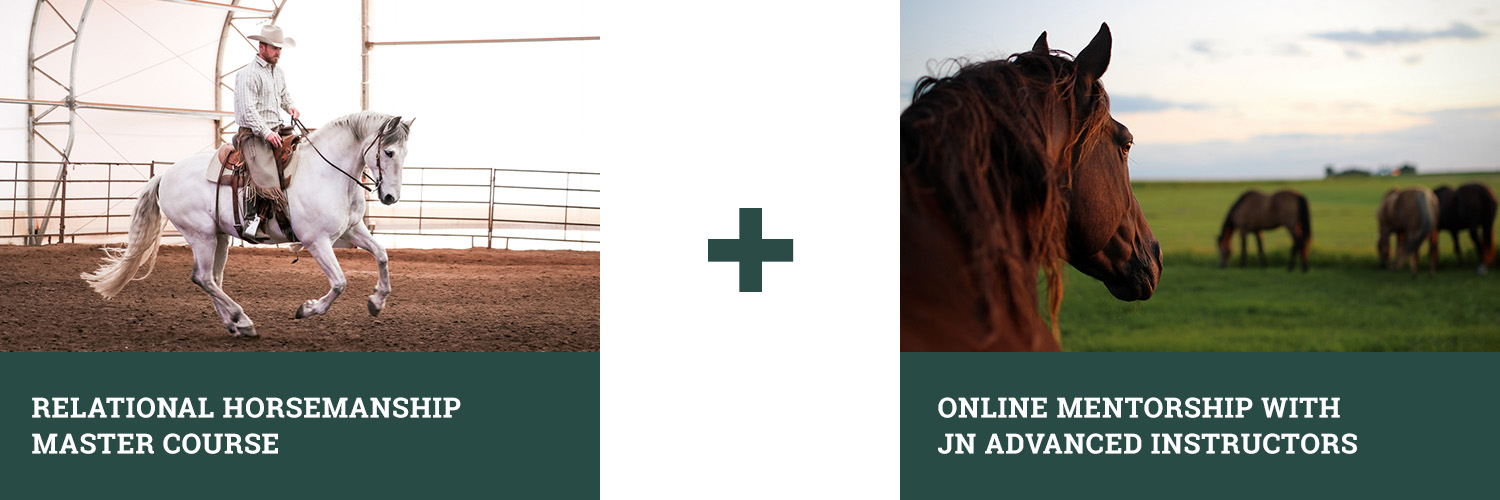 Relational Horsemanship Master Course + Online Mentorship with JN Advanced Instrcutors